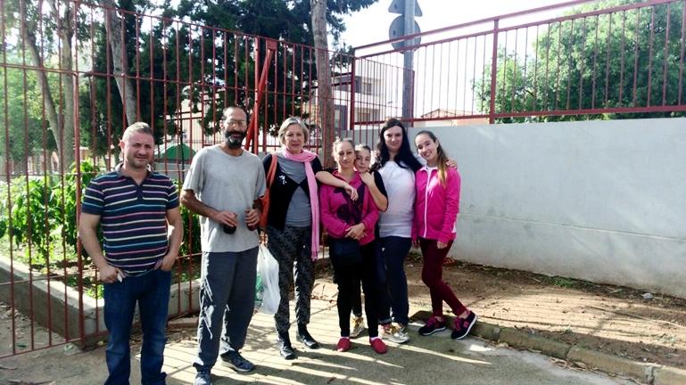 Huerto escolar, proyecto-medioambiente URBAN en Espinardo