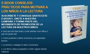 Motivar a la lectura en nuestros niños, e-Book de consejos prácticos