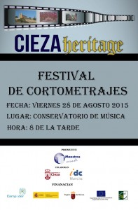 Festival de videos Digital Heritage Cieza - Cartel